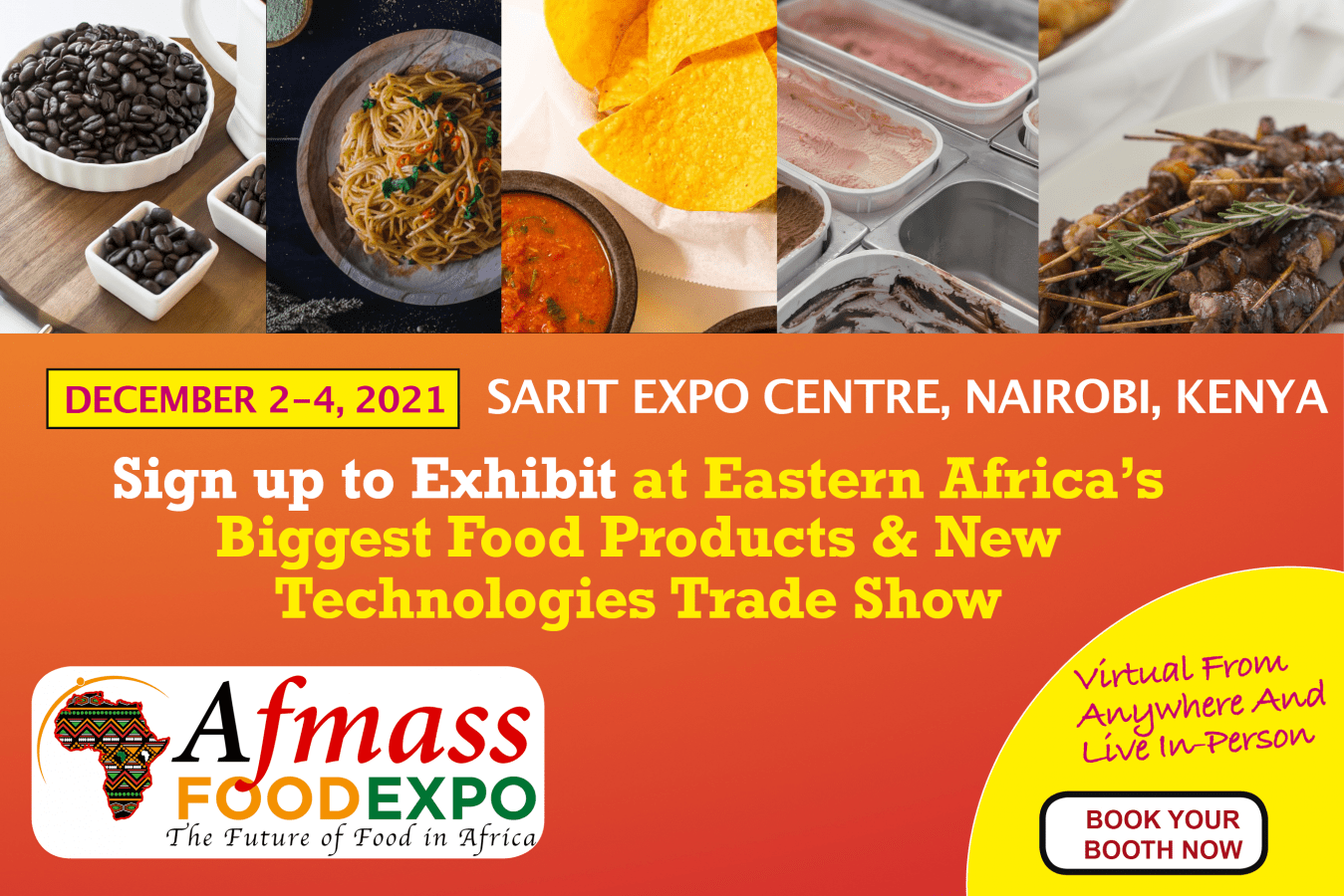 AFMASS Food Expo 2021 ad